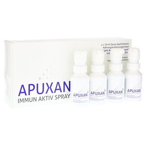 APUXAN Spray 4x30 Milliliter