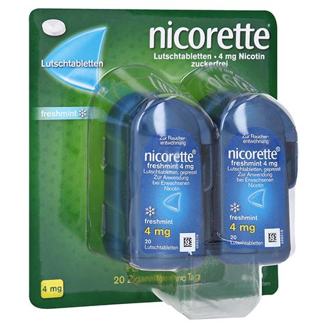 Nicorette freshmint 4mg gepresst 80 Stück