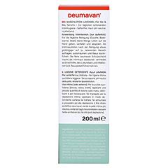 Deumavan Waschlotion Sensitiv 200 Milliliter - Rückseite