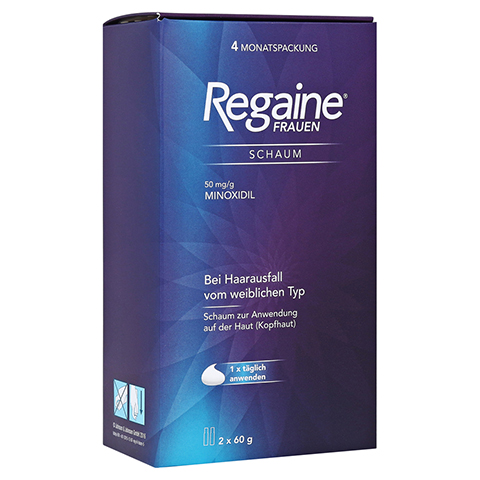 REGAINE Frauen Schaum 50 mg/g 2x60 Gramm