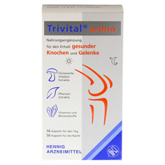 TRIVITAL arthro Kapseln 112 Stück - Vorderseite