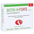 BIOTIN H forte Tabletten 20 Stück N1