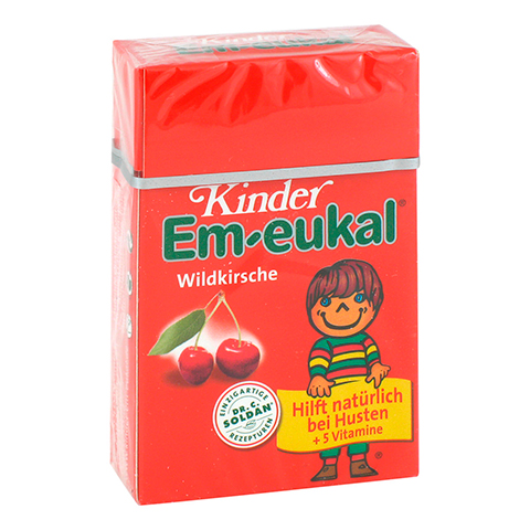 EM EUKAL Kinder Bonbons zuckerhaltig Pocketbox 40 Gramm