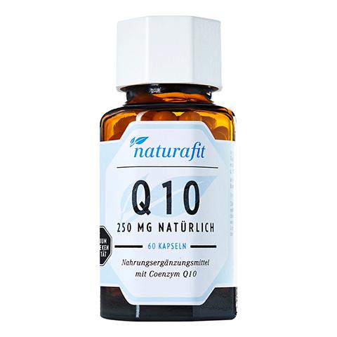 NATURAFIT Q10 250 mg natürlich Kapseln 60 Stück