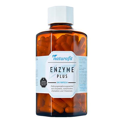 NATURAFIT Enzyme Plus Kapseln 240 Stück