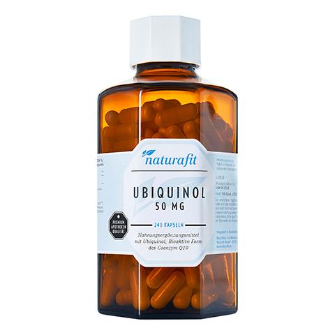 NATURAFIT Ubiquinol 50 mg Kapseln 240 Stück