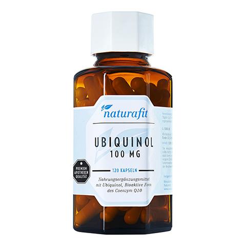 NATURAFIT Ubiquinol 100 mg Kapseln 120 Stück
