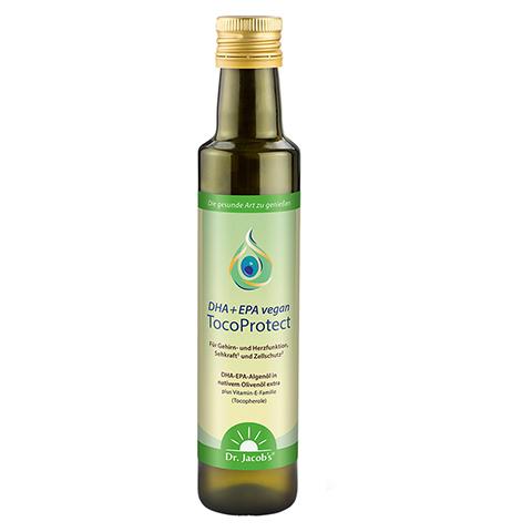 DHA+EPA vegan TocoProtect Dr.Jacob's flüssig 250 Milliliter