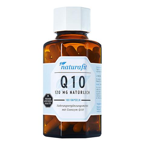NATURAFIT Q10 120 mg natürlich Kapseln 180 Stück