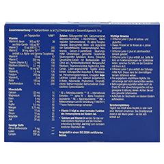 Orthomol Junior C Plus Direktgranulat Himbeer/Limette 7 Stück - Rückseite
