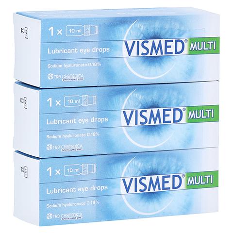 VISMED MULTI Augentropfen 3x10 Milliliter