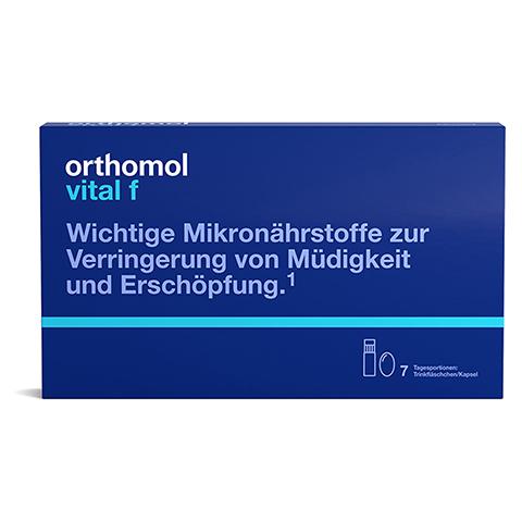 Orthomol Vital f Trinkfläschchen/Kapsel 7 Stück