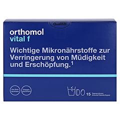 Orthomol Vital f Granulat/Tablette/Kapsel Orange 1 Stück - Vorderseite