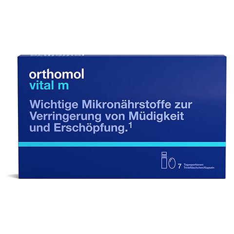 Orthomol Vital m Trinkfläschchen/Kapseln 7 Stück
