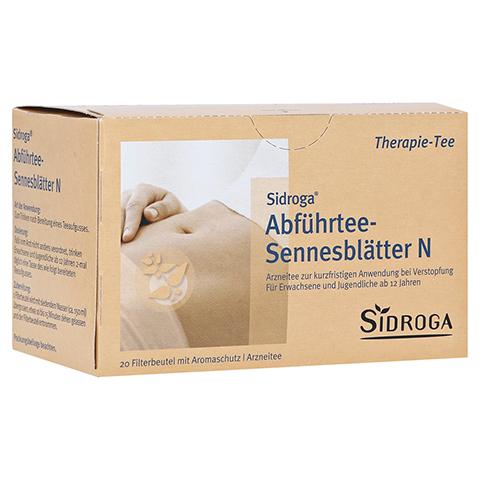 Sidroga Abführtee-Sennesblätter N 20x1.0 Gramm