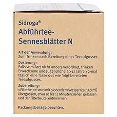 Sidroga Abführtee-Sennesblätter N 20x1.0 Gramm - Linke Seite