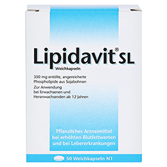 Lipidavit SL 50 Stück N1 - Rückseite