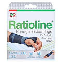 RATIOLINE active Handgelenkbandage Gr.L/XL 1 Stück - Vorderseite