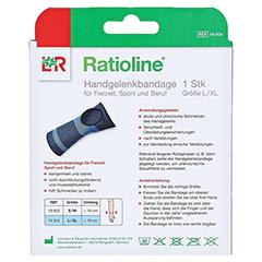 RATIOLINE active Handgelenkbandage Gr.L/XL 1 Stück - Rückseite