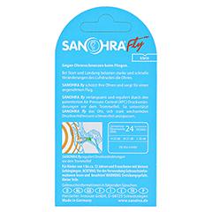 SANOHRA fly Ohrenschutz f.Kinder 2 Stück - Rückseite