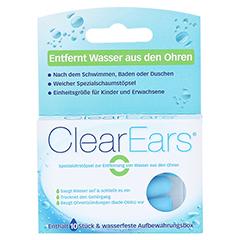 CLEAREARS Ohrstöpsel z.Wasserentfernung 10 Stück - Vorderseite