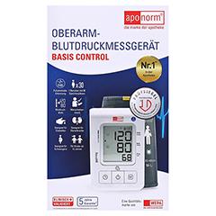 APONORM Blutdruckmessgerät Basis Control Oberarm 1 Stück - Vorderseite