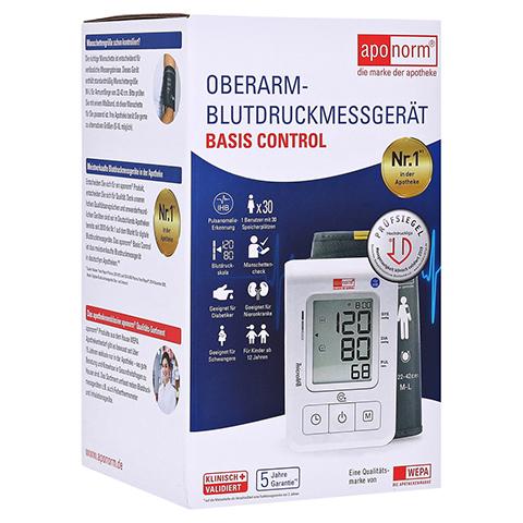 APONORM Blutdruckmessgerät Basis Control Oberarm 1 Stück