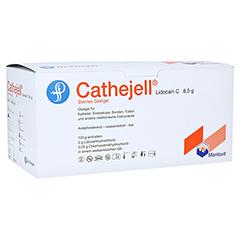 CATHEJELL Lidocain C steriles Gleitgel ZHS 8,5 g 25 Stück
