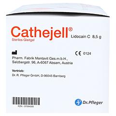 CATHEJELL Lidocain C steriles Gleitgel ZHS 8,5 g 25 Stück - Rechte Seite