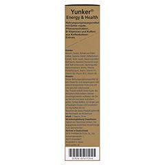 YUNKER Energy & Health Tonikum 30 Milliliter - Linke Seite