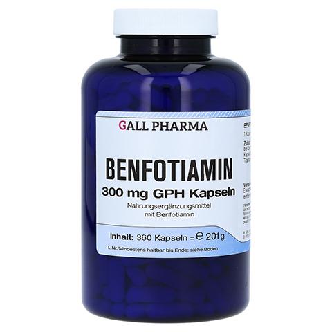 BENFOTIAMIN 300 mg GPH Kapseln 360 Stück