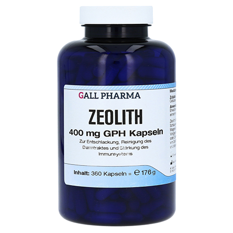 ZEOLITH 400 mg GPH Kapseln 360 Stück