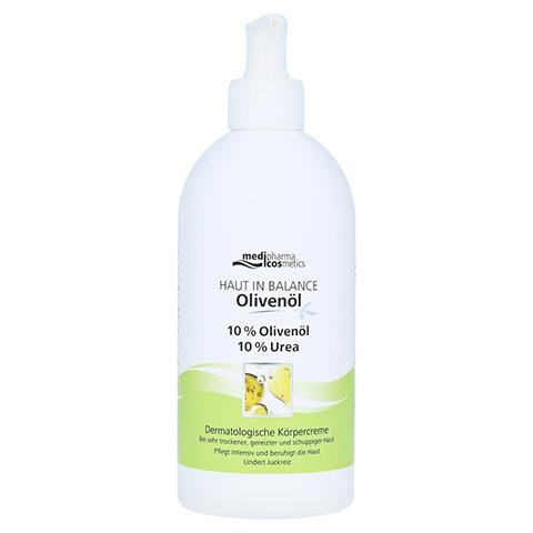 medipharma Haut in Balance Olivenöl Dermatologische Körpercreme 10% 500 Milliliter