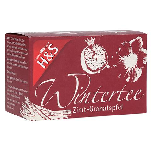 H&S Wintertee Zimt-Granatapfel Filterbeutel 20x2.0 Gramm