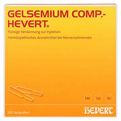 GELSEMIUM COMP.Hevert Ampullen 100x2 Milliliter N3 - Vorderseite