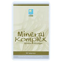 MINERAL KOMPLEX Spirulina Tabletten 90 Stück - Vorderseite