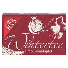 H&S Wintertee Zimt-Granatapfel Filterbeutel 20x2.0 Gramm - Vorderseite