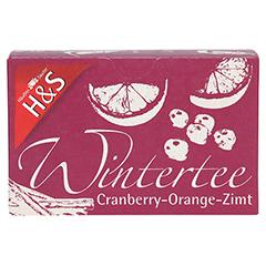 H&S Wintertee Cranberry-Orange-Zimt Filterbeutel 20x2.0 Gramm - Vorderseite