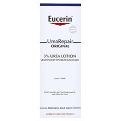 EUCERIN UreaRepair ORIGINAL Lotion 3% + gratis Urea Handcreme 30 ml 250 Milliliter - Vorderseite