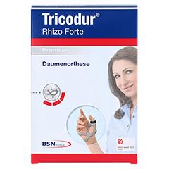 TRICODUR Rhizo forte Daumenorthese links Gr.M 1 Stück - Vorderseite
