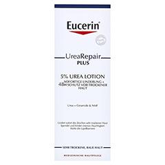 EUCERIN UreaRepair PLUS Lotion 5% + gratis Eucerin UreaRepair PLUS Handcreme 30 ml 250 Milliliter - Vorderseite