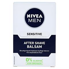 NIVEA MEN After Shave Balsam sensitive 100 Milliliter - Vorderseite