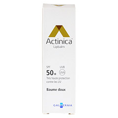 ACTINICA Lipbalm SPF 50+ 8 Milliliter - Rückseite