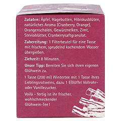 H&S Wintertee Cranberry-Orange-Zimt Filterbeutel 20x2.0 Gramm - Linke Seite