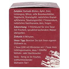 H&S Wintertee Zimt-Granatapfel Filterbeutel 20x2.0 Gramm - Linke Seite