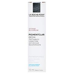ROCHE-POSAY Pigmentclar Augenpflege 15 Milliliter - Rückseite