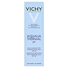 Vichy Aqualia Thermal UV Creme 50 Milliliter - Rückseite