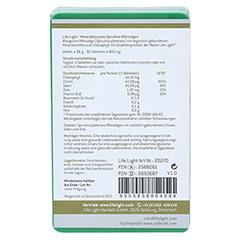 MINERAL KOMPLEX Spirulina Tabletten 90 Stück - Rückseite