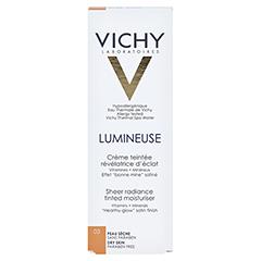 VICHY LUMINEUSE Satinee dore f.trockene Haut Creme 30 Milliliter - Rückseite
