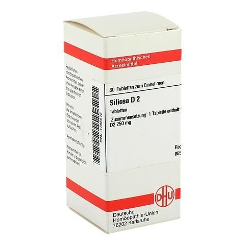SILICEA D 2 Tabletten 80 Stück N1